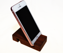 Solid Hardwood Multiple Angle Phone Stand